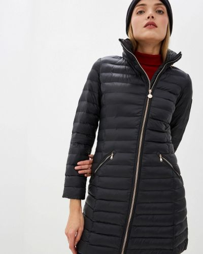Утепленная куртка осенняя черная Ea7