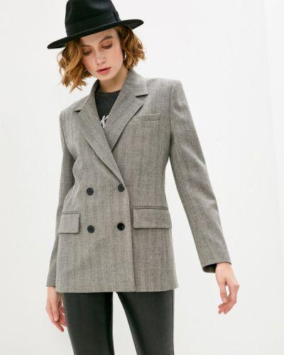 Серый пиджак The Kooples