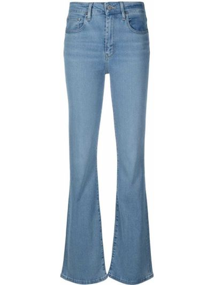 Расклешенные синие джинсы классические с карманами Levi's®