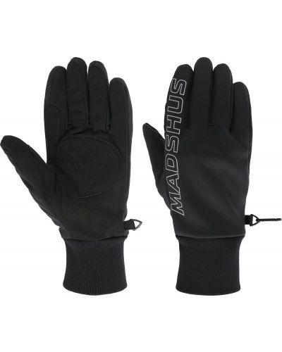Черные перчатки со вставками Madshus