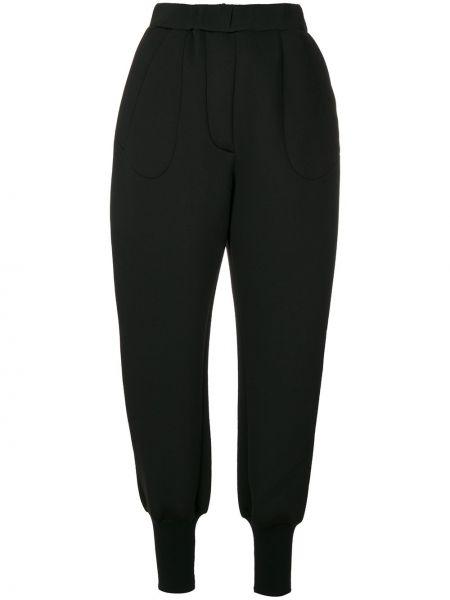 Черные брюки с поясом Ioana Ciolacu