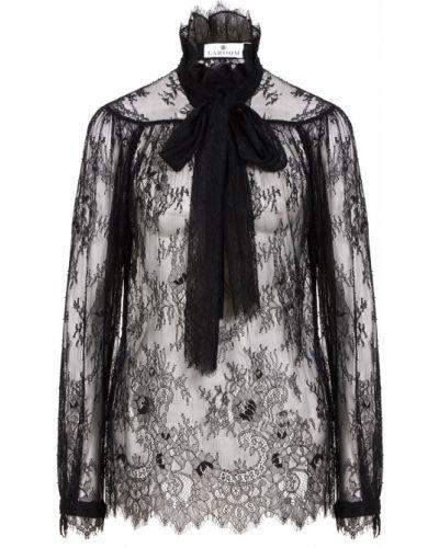 Черная блузка Laroom