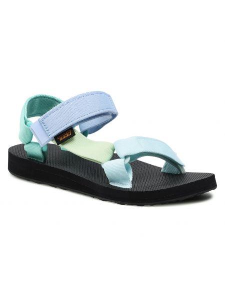 Zielone sandały Teva