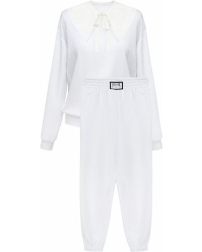 Biały garnitur bawełniany Sleeper