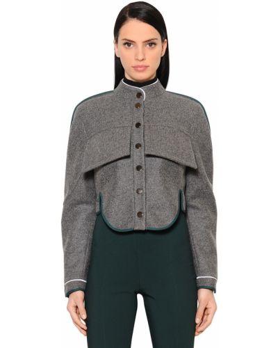 Кашемировая куртка - серая Antonio Berardi