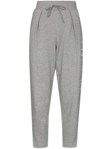 Bawełna bawełna prosto z wysokim stanem przycięte spodnie Givenchy