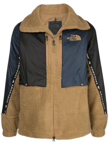Czarna długa kurtka z długimi rękawami z akrylu The North Face Black Series