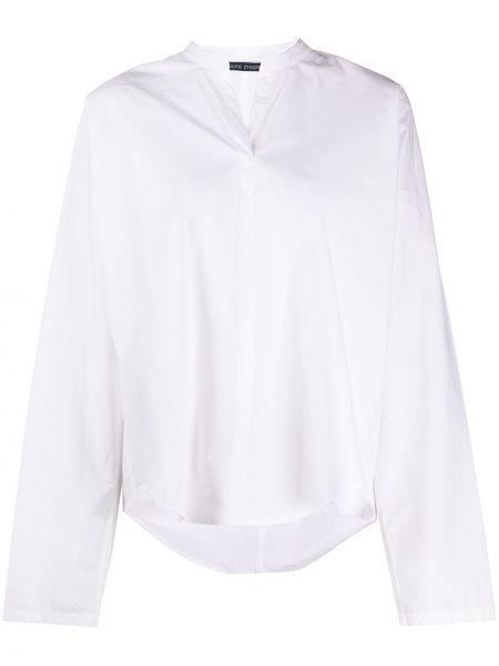 Хлопковая белая рубашка с воротником с длинными рукавами Sofie D'hoore