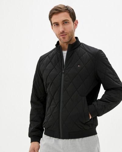 Черная зимняя куртка Tommy Hilfiger