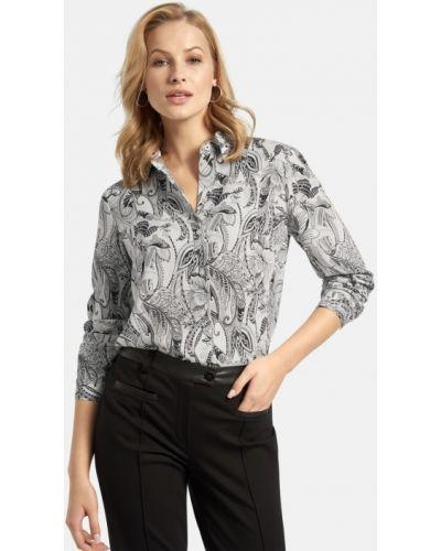 Нарядная блузка - белая Basler