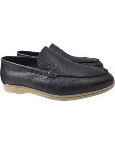 Кожаные туфли - синие Lido Marinozzi