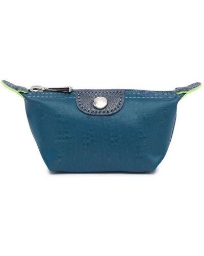 Синяя барсетка Longchamp