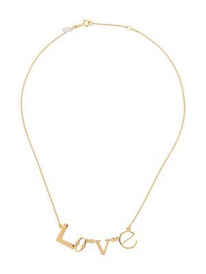 Золотистое серебряное ожерелье Wouters & Hendrix