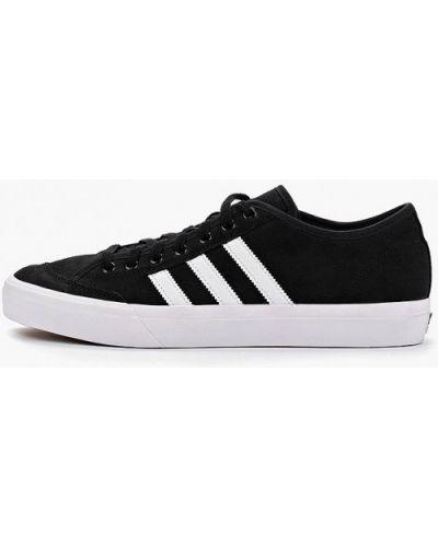 Низкие кеды черные замшевые Adidas Originals