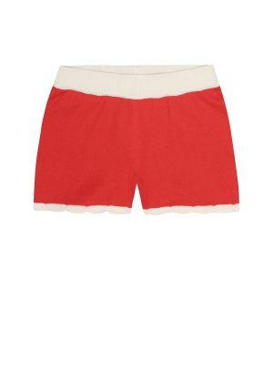 Ватная хлопковая юбка мини винтажная Mini Rodini