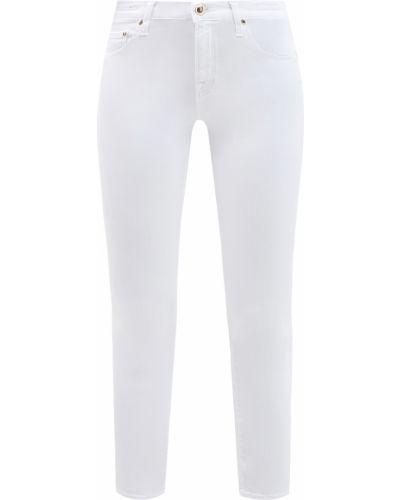 Зауженные джинсы - белые Jacob Cohen
