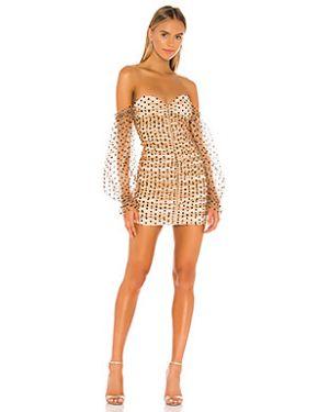 Платье с декольте на молнии Majorelle