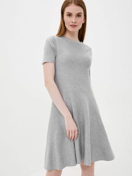 Платье серое футболка Tantra
