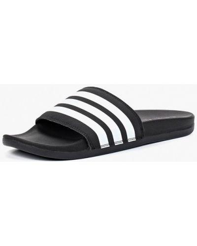 Черные сланцы 2018 Adidas