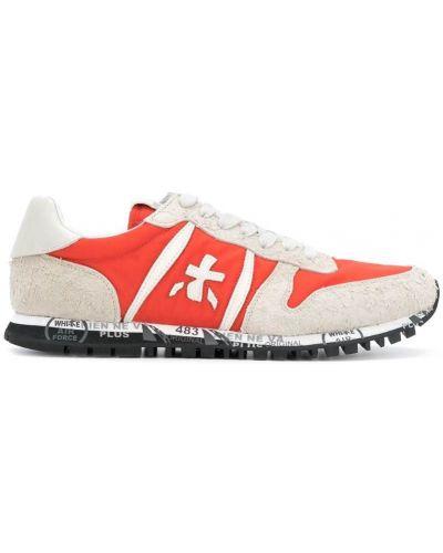 Оранжевые кроссовки Premiata