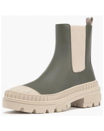 Зеленые ботинки челси Stradivarius