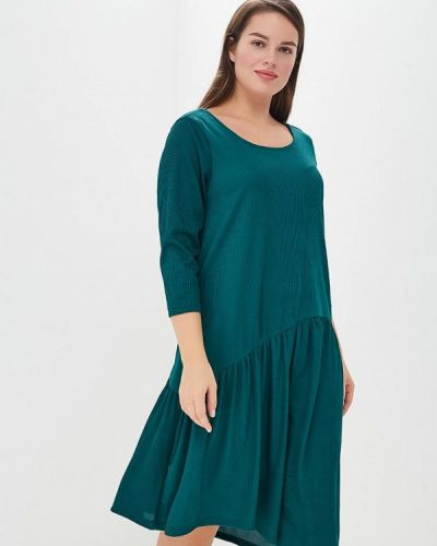 Вечернее платье осеннее зеленый Junarose