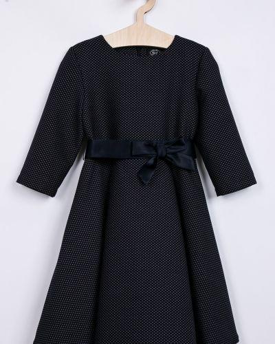Платье с рукавами темно-синий синий Sly