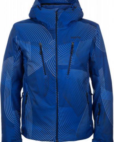 Куртка с капюшоном - синяя VÖlkl