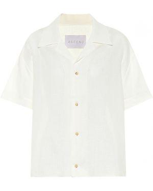Ciepła biała koszula Asceno
