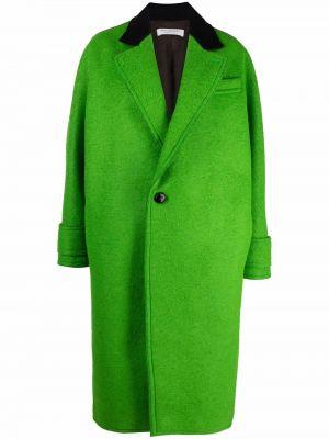 Зеленое пальто из вискозы Philosophy Di Lorenzo Serafini