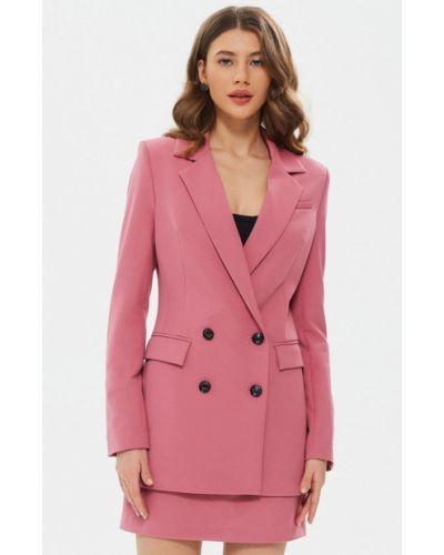 Розовый пиджак Moru
