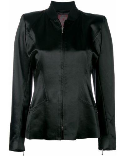 Черная куртка John Galliano Pre-owned