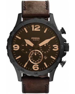Zegarek kwarcowy skórzany z paskiem Fossil
