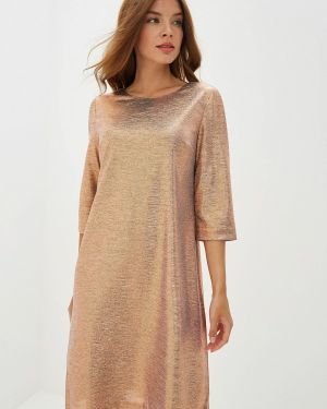 Вечернее платье золотой Dlys