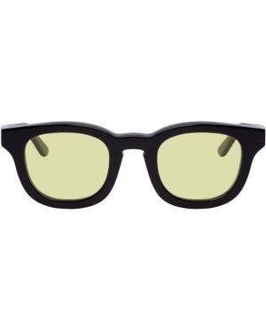 Черные солнцезащитные очки квадратные с завязками Thierry Lasry