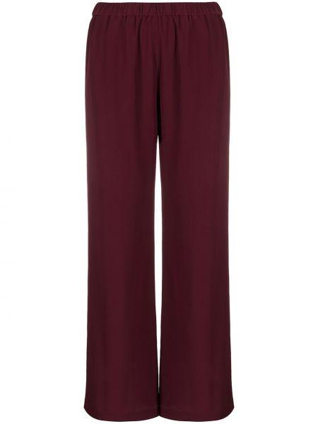 Брюки с завышенной талией фиолетовые брюки-хулиганы Aspesi