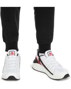 Кожаные классические кроссовки сетчатые со вставками Kappa