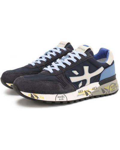 Синие кроссовки Premiata