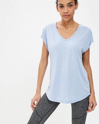 Голубая футболка 2019 Sela