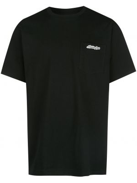 Koszula krótkie z krótkim rękawem z kieszeniami z logo Bape