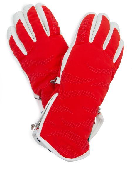 Красный текстильный спортивный костюм на резинке на молнии Bogner