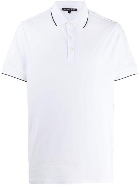 Koszula krótkie z krótkim rękawem prosto z kołnierzem Michael Kors