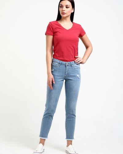 Хлопковые джинсы F5
