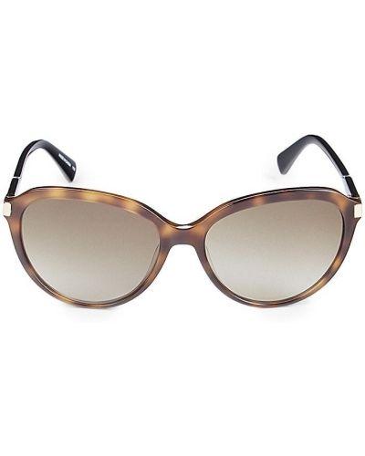 Солнцезащитные очки - черные Longchamp
