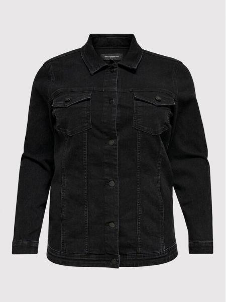 Kurtka jeansowa - czarna Only Carmakoma