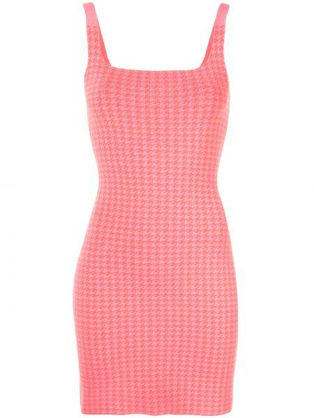 Różowa sukienka bawełniana Nagnata