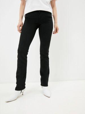 Черные джинсы-скинни узкого кроя Trussardi