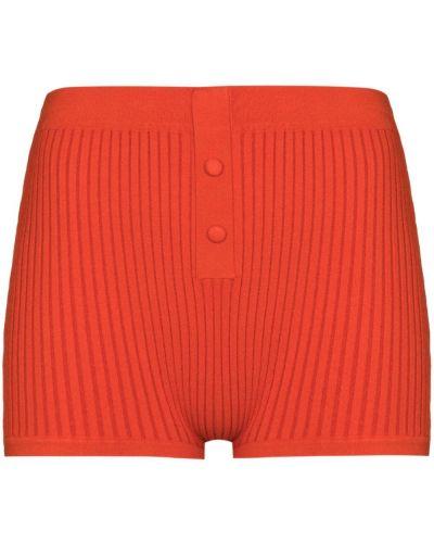 Спортивные оранжевые нейлоновые шорты Live The Process