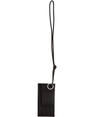 Ключница кожаная черный Bottega Veneta