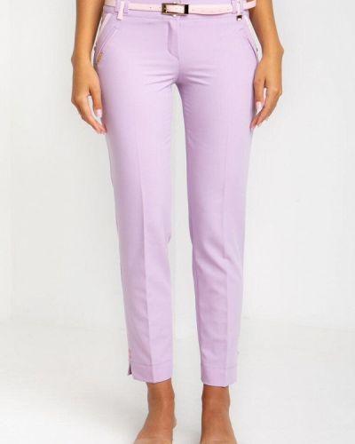 Повседневные фиолетовые брюки Das